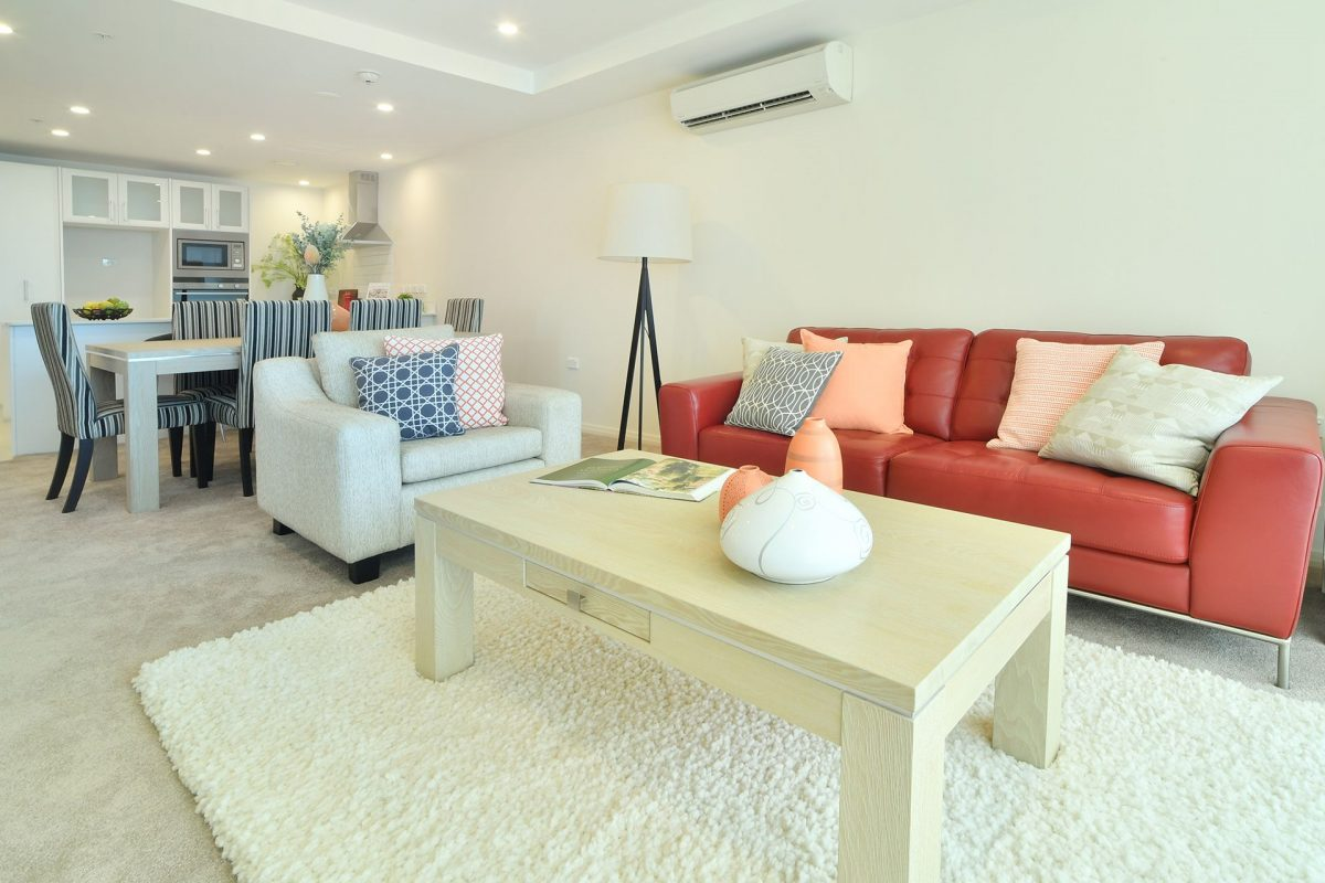 One Bedroom Apartment Deck