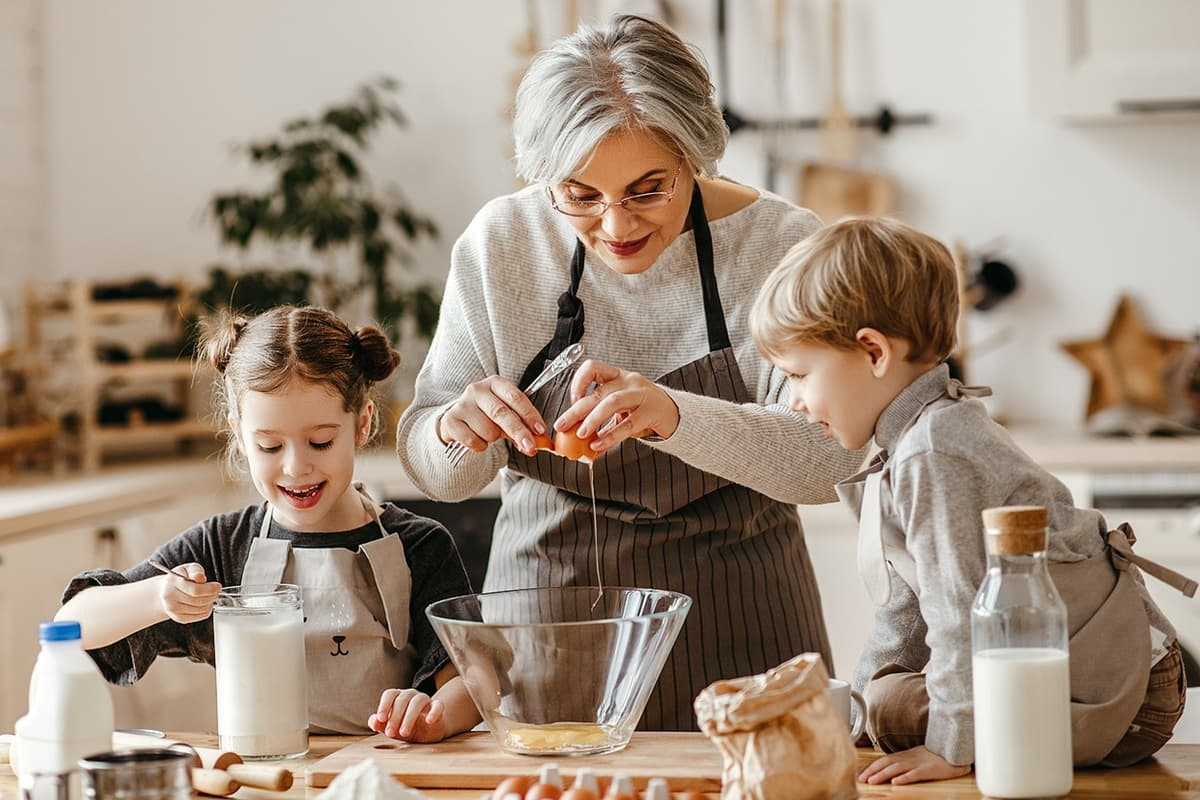 Easy Recipes To Make Your Grandkids